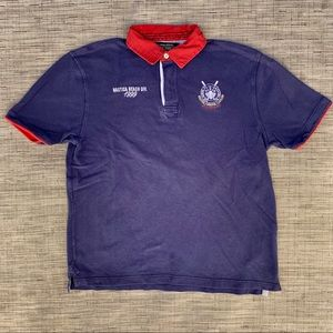 Vintage Nautica Polo Shirt Size XL